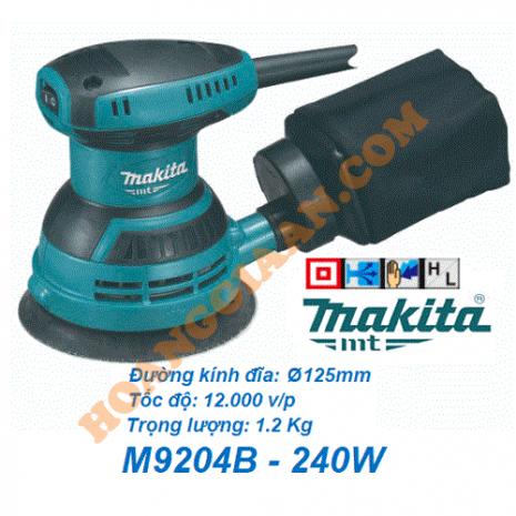 Máy chà nhám rung tròn Makita MT M9204B