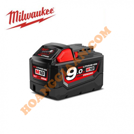 Pin M18™ REDLITHIUM™-ION Milwaukee 18V 9.0Ah M18B9