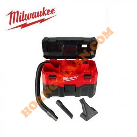 Máy hút bụi khô & ướt dùng pin 18V Milwaukee M18 VC-2-0 (Không kèm pin & sạc)