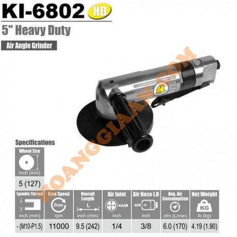 """Máy mài góc hơi 125mm 5"""" KUANI KI-6802"""